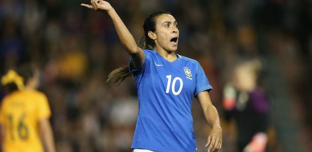 Marta segue como o principal ícone da seleção feminina