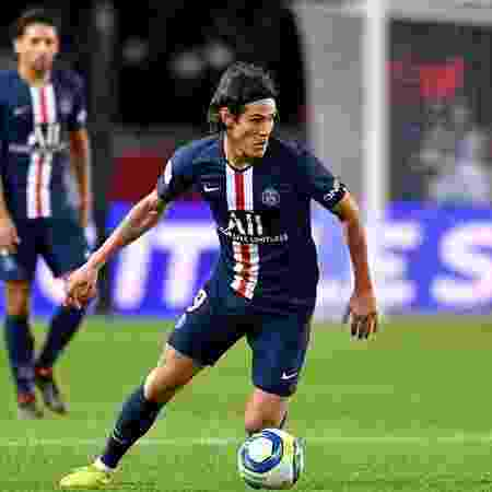 Cavani hoje é o maior artilheiro do PSG, com 196 gols - Getty Images