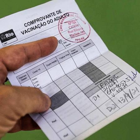Passaporte de vacinação passou a valer na cidade do Rio desde 27 de agosto - Foto: Tânia Rêgo/ Agência Brasil