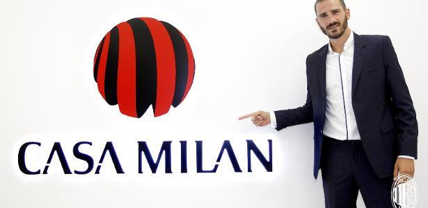 Ex=Juventus, Bonucci já foi até apresentado como jogador do Milan