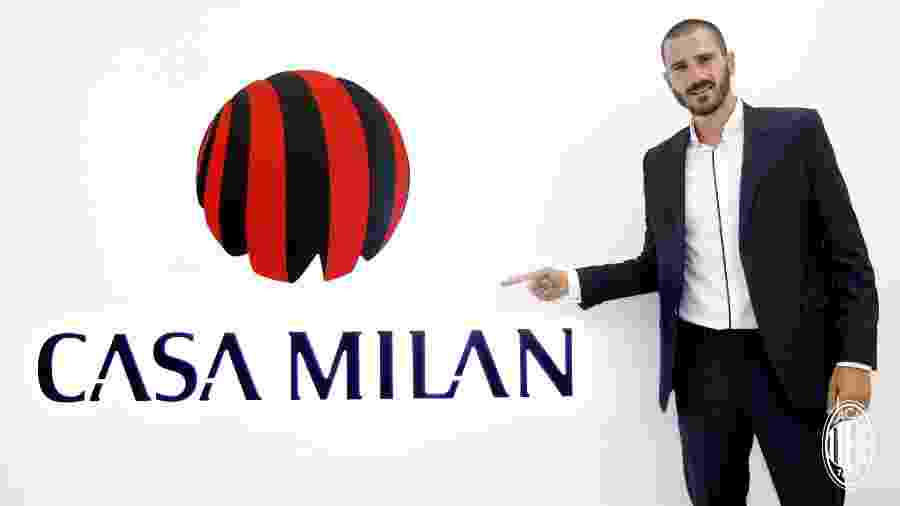 Bonnucci passou nos exames médicos e jogará no Milan por cinco anos -