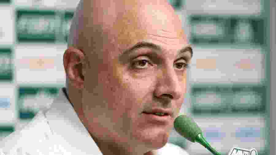 Maurício Galiotte aproveitou reunião para apresentar balanço de setembro - Fabio Menotti/Palmeiras