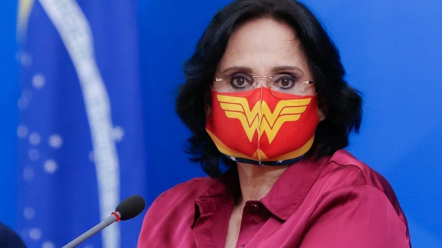 Ministra de Estado da Mulher, da Família e Direitos Humanos, Damares Alves. -  Anderson Riedel/PR