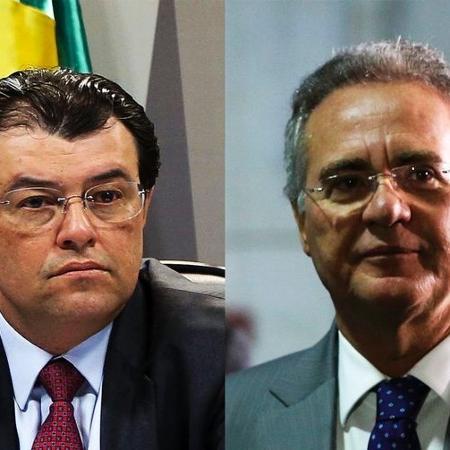 Os senadores Eduardo Braga e Renan Calheiros  são os mais cotados para relatar a CPI da Covid-19 - Arquivo/Agência Brasil