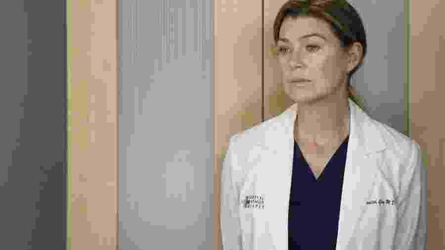 """Ellen Pompeo em cena de """"Grey""""s Anatomy"""" - Reprodução / Internet"""