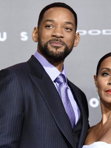 Os atores Will Smith e Jada Smith - Reprodução