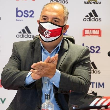 Marcos Braz em ação pelo Flamengo - Alexandre Vidal / Flamengo
