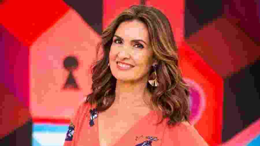 A apresentadora Fátima Bernardes  - Divulgação/Globo
