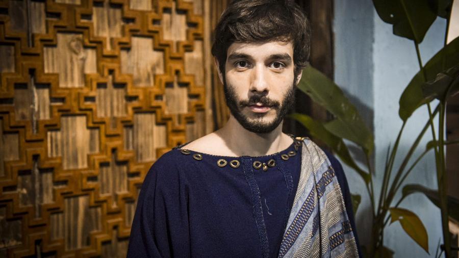 Vitor Novello como Abrão em Gênesis (Divulgação / Record TV / Blad Meneghel) - Reprodução / Internet