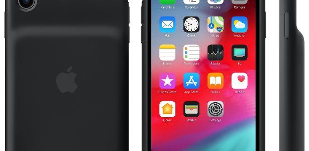 Apple anuncia troca grátis de capinha com bateria extra após falha técnica