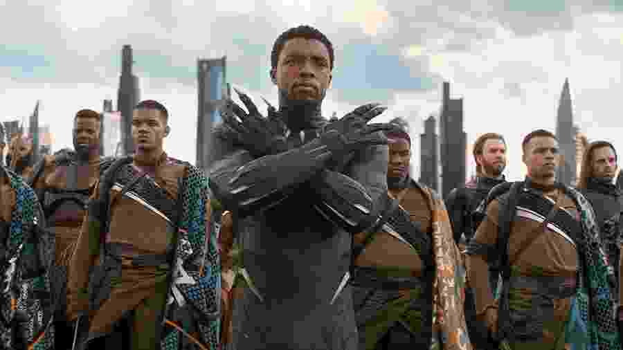 Chadwick Boseman, o Pantera Negra da Marvel: morte precoce - Reprodução / Internet