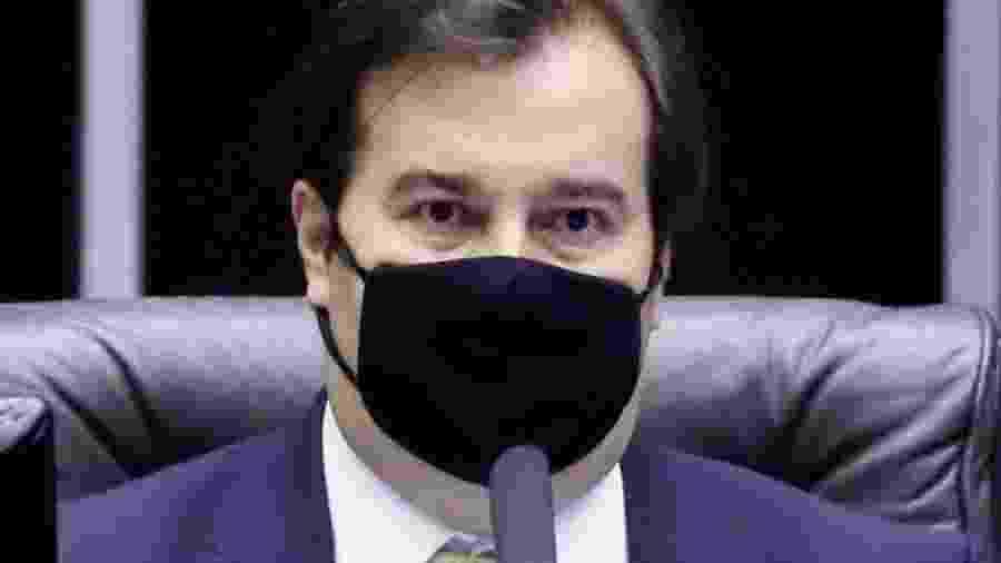 O presidente da Câmara, Rodrigo Maia (DEM-RJ).  -  Agência Câmara