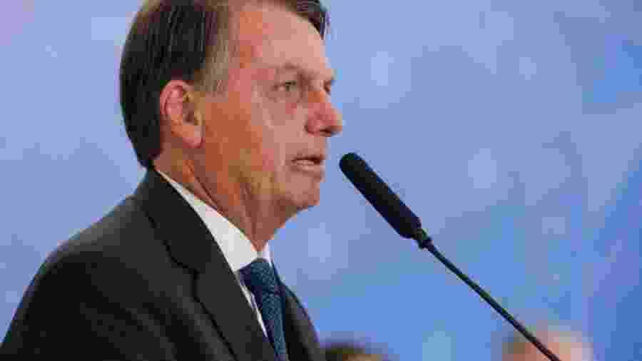 """Bolsonaro diz que não pode mudar país """"sozinho"""" e promover despesas além do teto -                                 ISAC NOBREGA"""