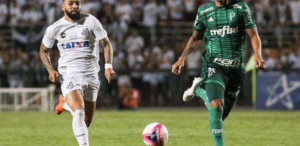 Gabigol não marca um gol há mais de um mês e promete mais capricho nas finalizações - Ricardo Moreira/Fotoarena/Estadão Conteúdo
