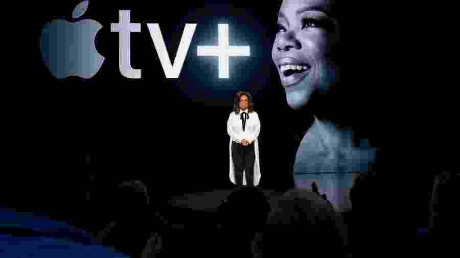 Oprah Winfrey sobre o Apple TV+ - Oprah Winfrey sobre o Apple TV+