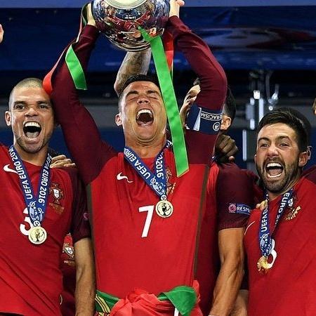 Portugal é o atual campeão da Eurocopa: torneio é exclusivo da Globo na TV brasileira - GettyImages