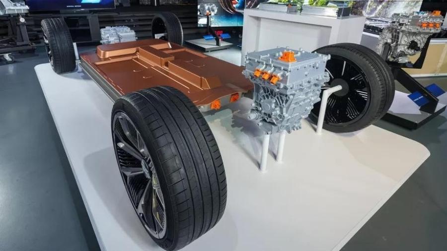 Plataforma do carro elétrico da GM - General Motors