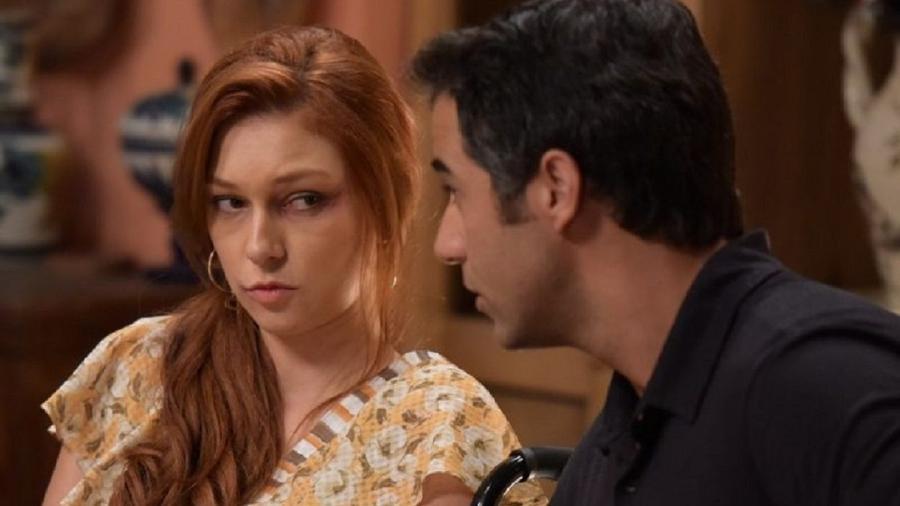 Poderosa (Day Mesquita) e Miguel (Rafael Sardão) em Amor Sem Igual(Foto: Blad Meneghel/ Record TV) - Blad Meneghel/ Record TV