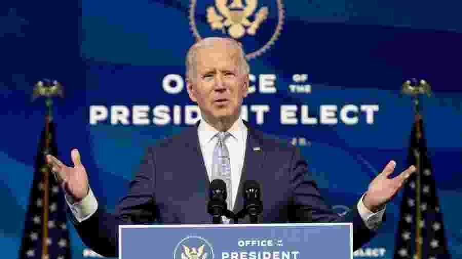 Resolver crise climática estará no centro da agenda de empregos de Biden, diz assessor econômico -                                 Foto: JIM WATSON / AFP