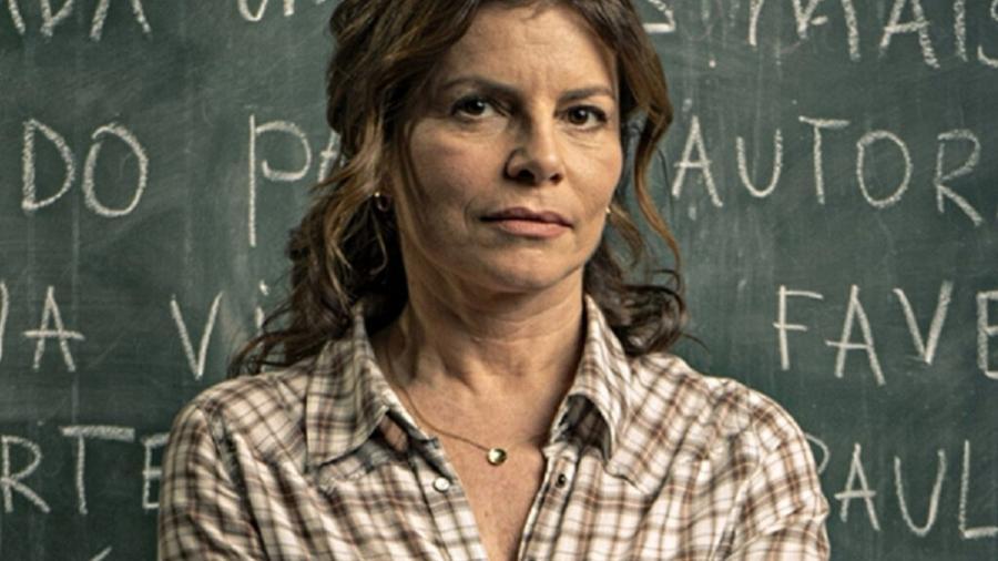 Débora Bloch vive a professora Lúcia na série Segunda Chamada - Divulgação/Globo