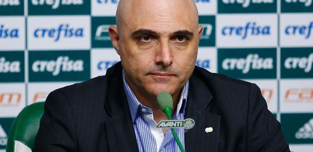 Mauricio Galiotte, atual presidente do Palmeiras