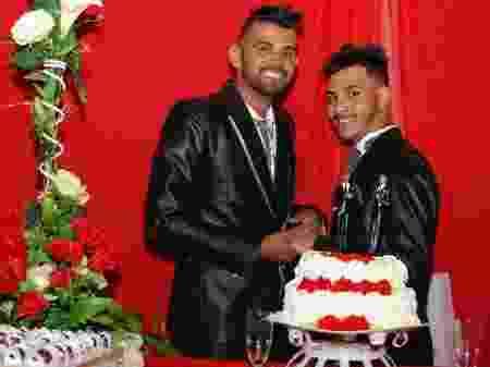 Geferson Ribeiro de Souza e Daniemerson Brito da Silva (Foto: Arquivo pessoal/ Geferson Ribeiro de Souza)