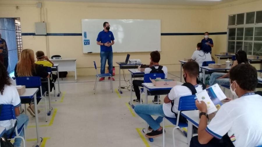 Volta às aulas em Minas Gerais é suspensa por decisão do Tribunal de Justiça -                                 CLARISSA PAIVA/DIVULGAÇÃO