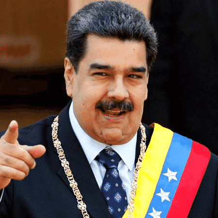 Foto meramente ilustrativa de Nicolás Maduro, o presidente da Venezuela - Getty Images
