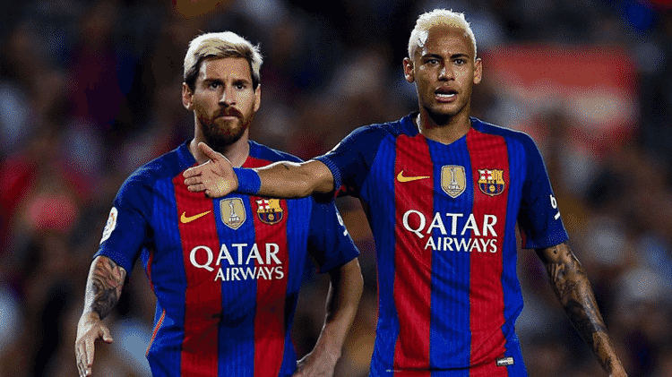 neymar e messi - GettyImages - GettyImages
