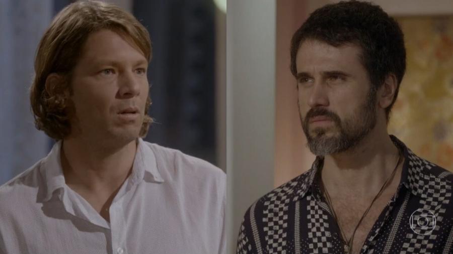 Gael (Eriberto Leão) e René (Mário Frias) em Malhação - Sonhos (Foto: Globo) - Reprodução / Internet
