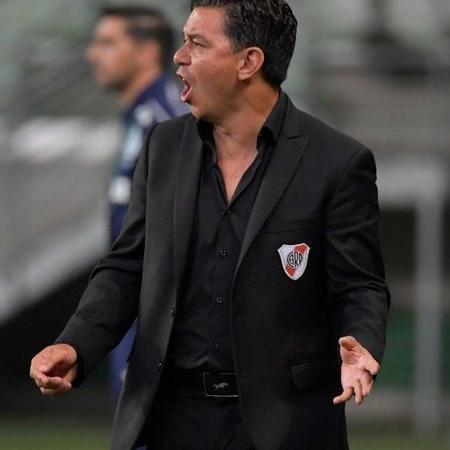 Marcelo Gallardo, treinador do River Plate - GettyImages