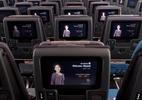 TV nos aviões tem câmera embutida e causa preocupação sobre privacidade