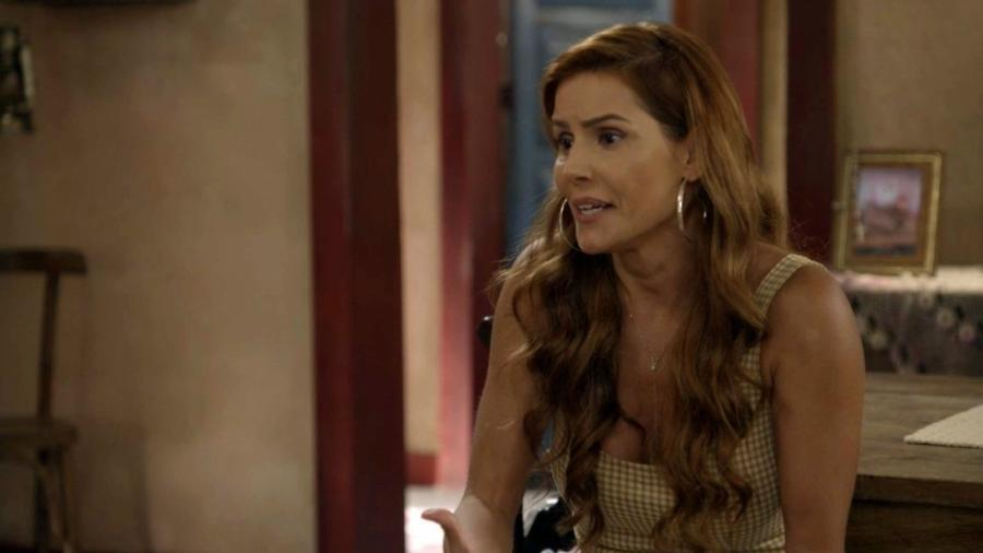 Alexia (Deborah Secco) em Salve-se Quem Puder (Reprodução/TV Globo). - Reprodução/TV Globo