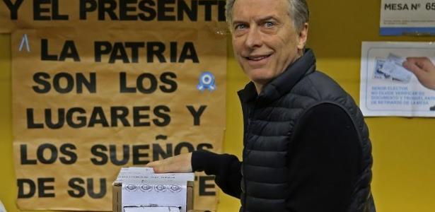 Bloco de Macri vence eleições legislativas neste domingo (23)