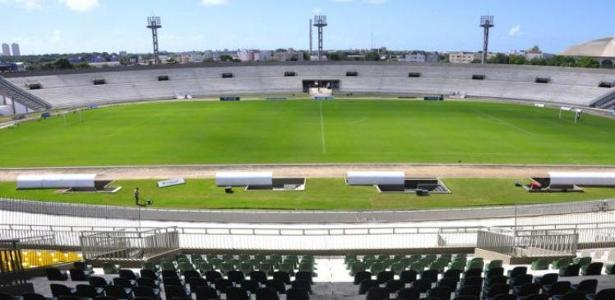 Diretoria aposta no estádio Almeidão para faturar R$1,4 mi, equivalente a 4 folhas salariais