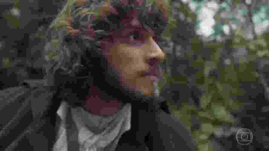 Joaquim (Chay Suede) em Novo Mundo (Foto: Reprodução/TV Globo) - Reprodução / Internet