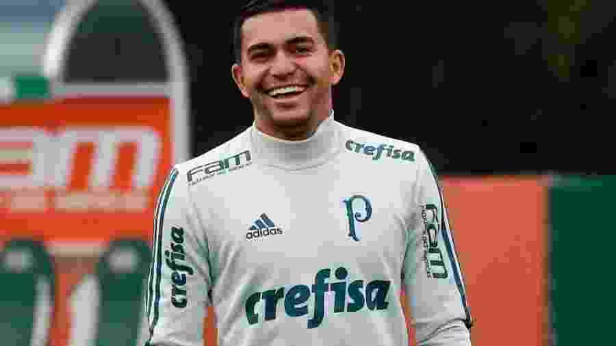 Dudu pode retornar ao Palmeiras no confronto do dia 9 contra o Atlético-MG - Marcelo D. Sants/Framephoto/Estadão Conteúdo