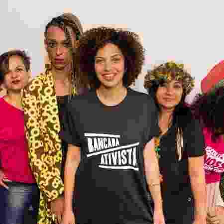 A deputada Mônica Seixas (ao centro) - Bancada Ativista (Reprodução/Facebook)