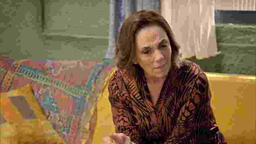 Madalena (Denise Del Vecchio) em Topíssima (Reprodução/Record TV). - Madalena (Denise Del Vecchio) em Topíssima (Reprodução/Record TV).