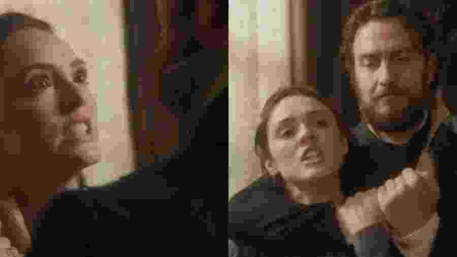 Anna (Isabelle Drummond) e Thomas (Gabriel Braga Nunes) de Novo Mundo (Reprodução - TV Globo)  - Reprodução / Internet
