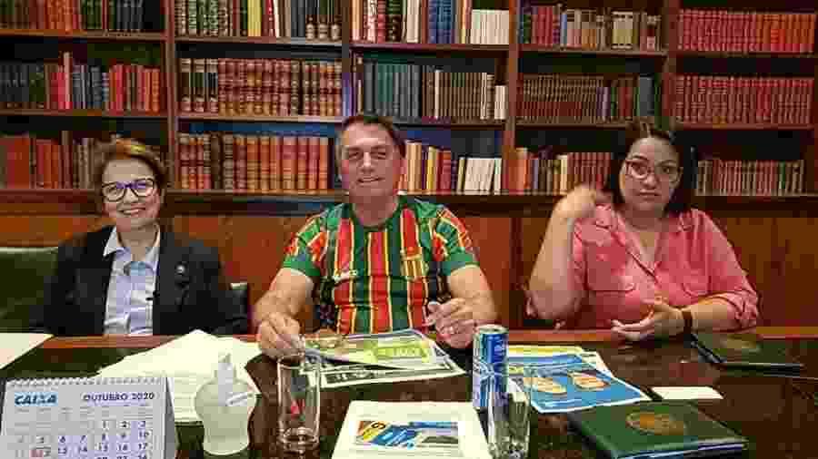 Live da semana Presidente Jair Bolsonaro, 29/10/2020                              - Jair Bolsonaro/Facebook