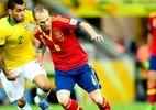 Despedida de Iniesta da seleção espanhola pode ser contra o Brasil - AFP