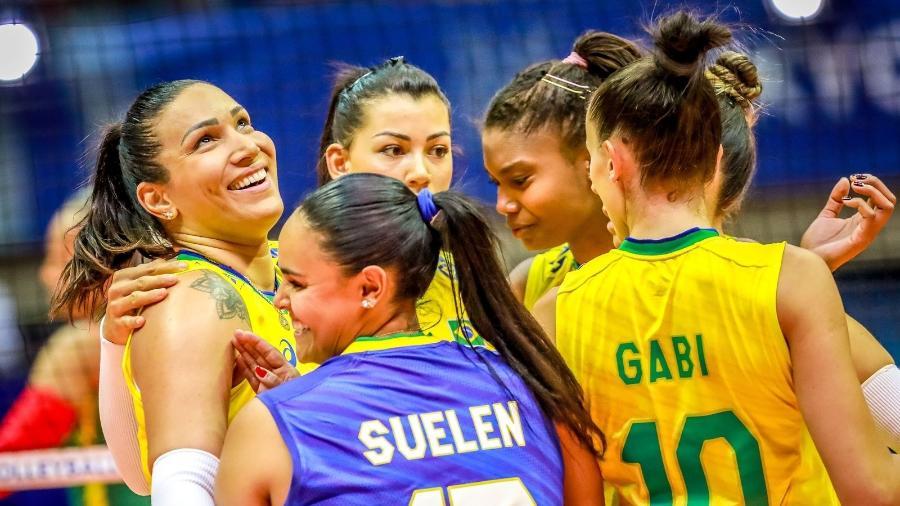 Seleção Feminina de Vôlei (Foto: FIVB) - Seleção Feminina de Vôlei (Foto: FIVB)