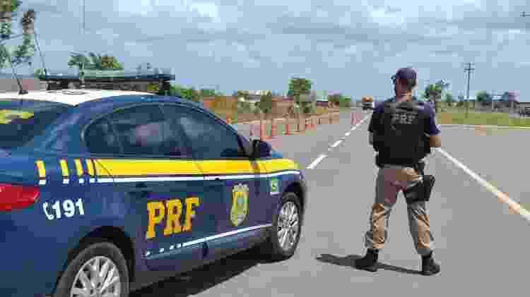 Concurso PRF: viatura da Polícia Rodoviária Federal - Divulgação - Divulgação