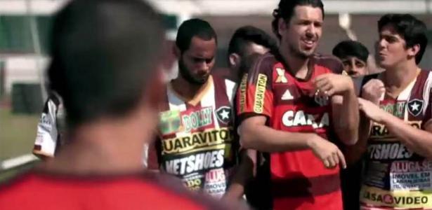 Vídeo ironizou diversos patrocinadores do Botafogo