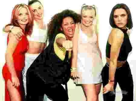 O grupo britânico Spice Girls (FOTO: Reprodução)