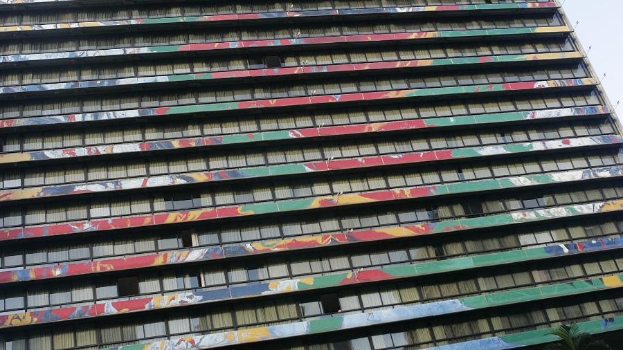 Fachada do hotel Maksoud Plaza, na região central de São Paulo - Ivan Dias/Estadão Conteúdo