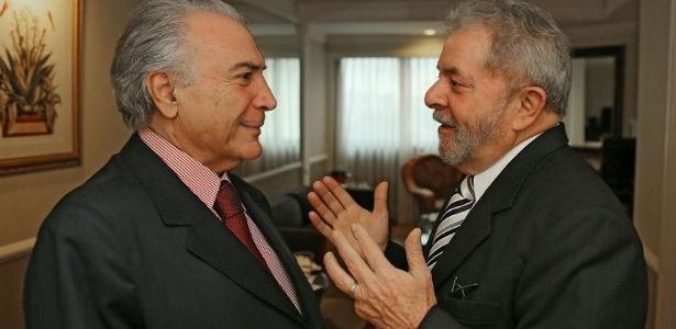 Temer e Lula se encontraram em São Paulo no início do ano