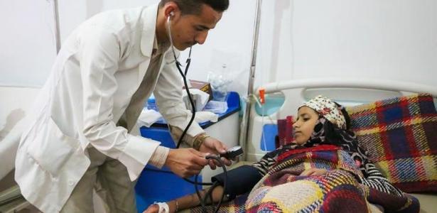 A epidemia no Iêmen é considerada a crise mais grave de cólera do mundo