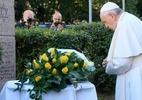 Papa homenageia judeus exterminados na Lituânia - Foto: Petras Malukas / AFP